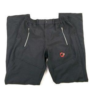 MAMMUT Stretch Soft Shell Hiking Pant Black Small